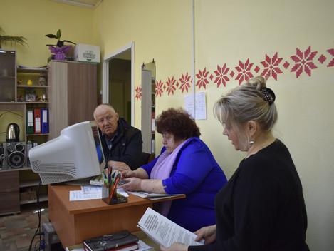 Состоялась встреча с членом районного Совета депутатов Главатских Леонидом Леонидовичем. Обсуждали в