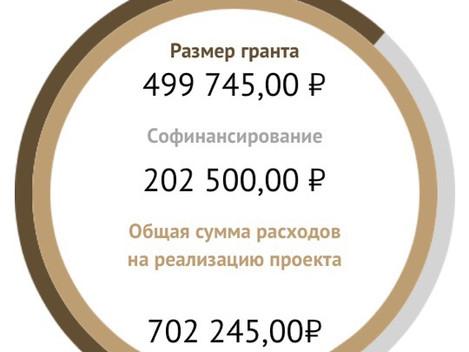 Поздравляем руководителя проекта Корепанова А.В. с заслуженной победой в конкурсе ФПГ проект творчес