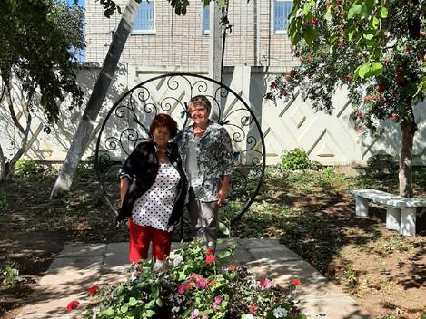 Визит Бурановой Ларисы Николаевны министр национальной политики УР