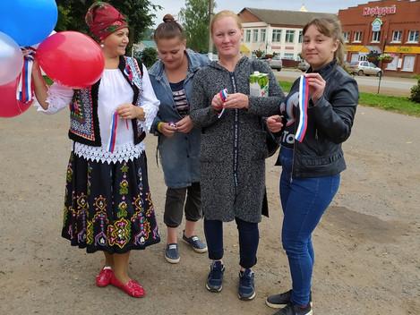 22 августа День государственного флага В этот день в районе прошло множество мероприятий, посвященны