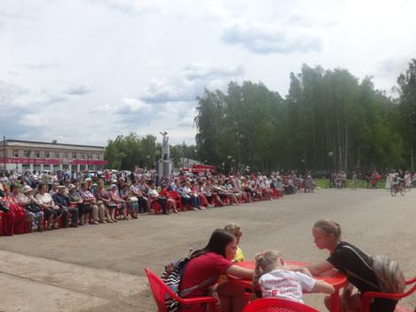 12 июня наши соседи-жители Частинского района Пермского края отмечали двойной праздник -День России
