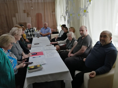 "20 марта на базе Центра ""Сибирский тракт"" состоялся круглый стол на тему:""Реализация"