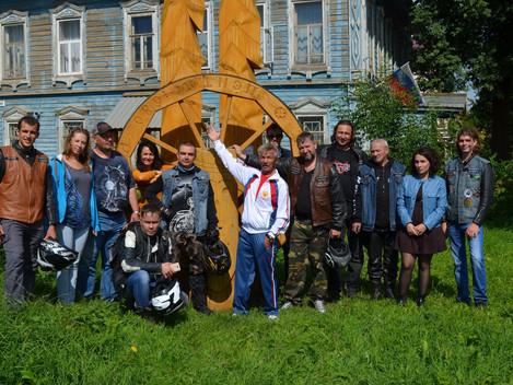 12 Августа IV Республиканский фестиваль «Играй, гармонь, на Сибирском тракте» посетили необычные гос