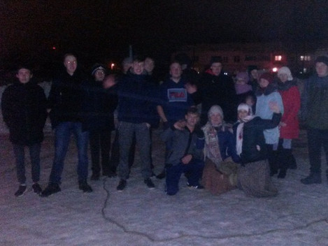 Вчера студенты Дебесского политехникума , общежитие 2 встречали весну. Совместно с сотрудниками отде