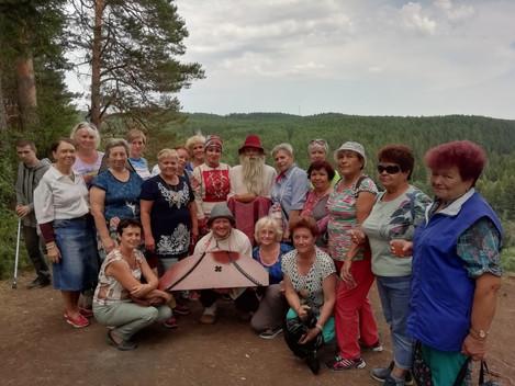 19 июля наш Дебесский район посетили туристы из г.Ижевска, члены Союза пенсионеров Удмуртии. Гостей