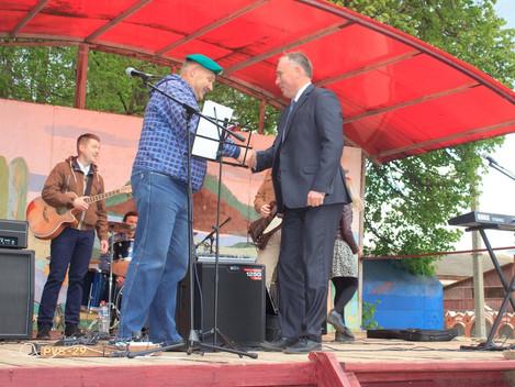 День пограничника  28 мая 2018 года для пограничников Дебесского района день был очень насыщенным. С