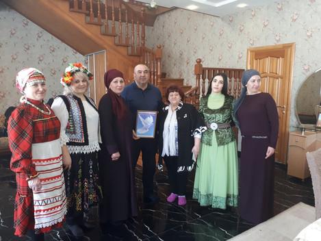 Новруз байрам в азербайджанской семье  21 марта сотрудники Дебёсского информационно - методического