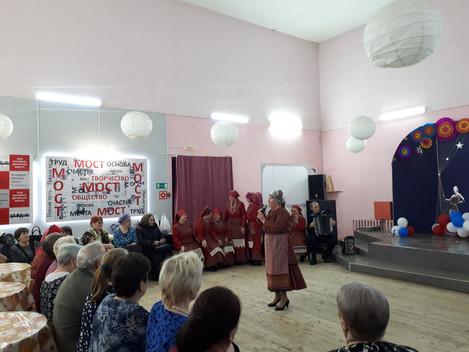 Голоса, несущие любовь…  29 марта в Районном Доме культуры «Чупчигур» на площадке МОСТ состоялся Рай
