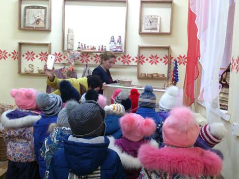 Малыши детского сада N3 познакомились с культурой разных национальностей   Выставочный зал &quot