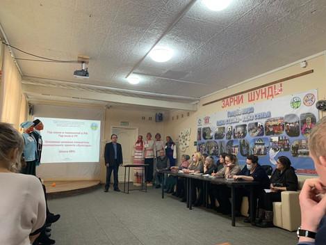 Проведение учреждениями культуры мероприятий в рамках Года села в УР и Года науки и технологий в РФ