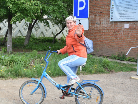 """На работу на велосипеде"""""""