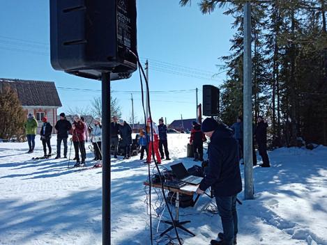 Соревнования районного личного-командного первенства Дебесского района по лыжным гонкам на призы Н.