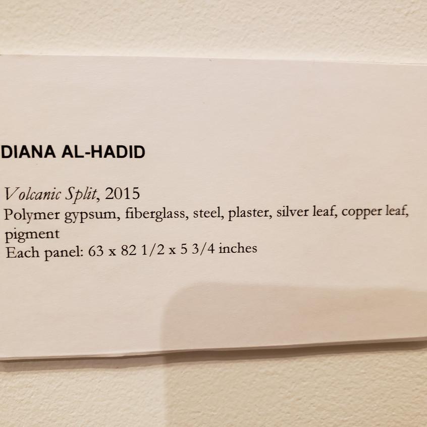 #johnberggruengallery #dianaalhadid