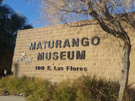 solo exhibtion & a lecture @ Maturango Museum, Ridgecrest California
