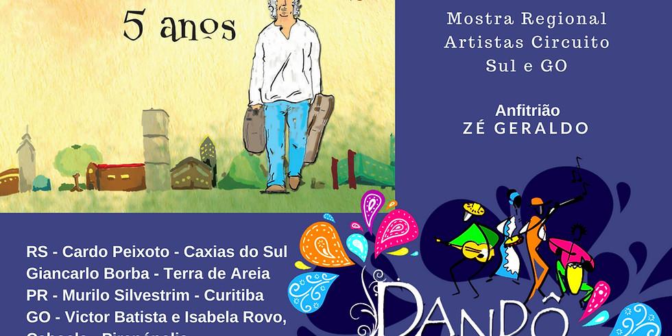 Dandô - Mostra Regional Sul e GO   ZÉ GERALDO