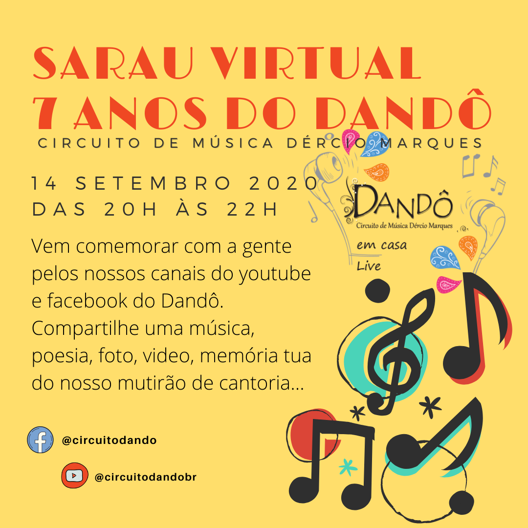 Sarau Dandô convite1