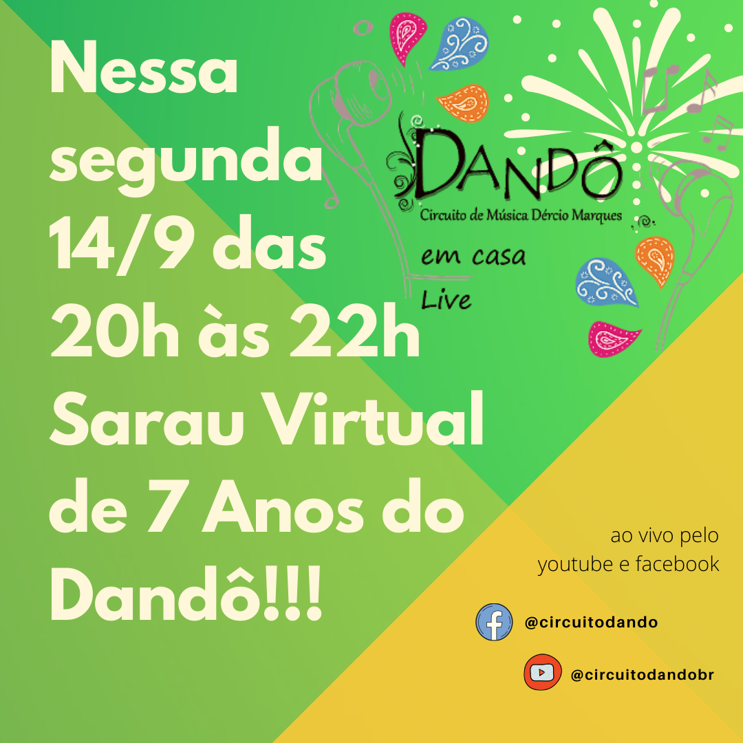 Sarau Dandô convite
