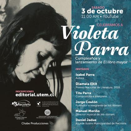 Aniversário de Violeta Parra - Chile