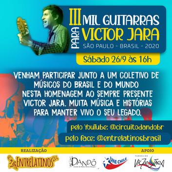 3ª Edição Mil Guitarras Para Victor Jara