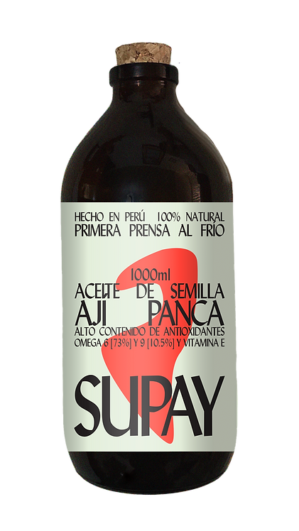 ACEITE DE AJÍ PANCA X 1000ML