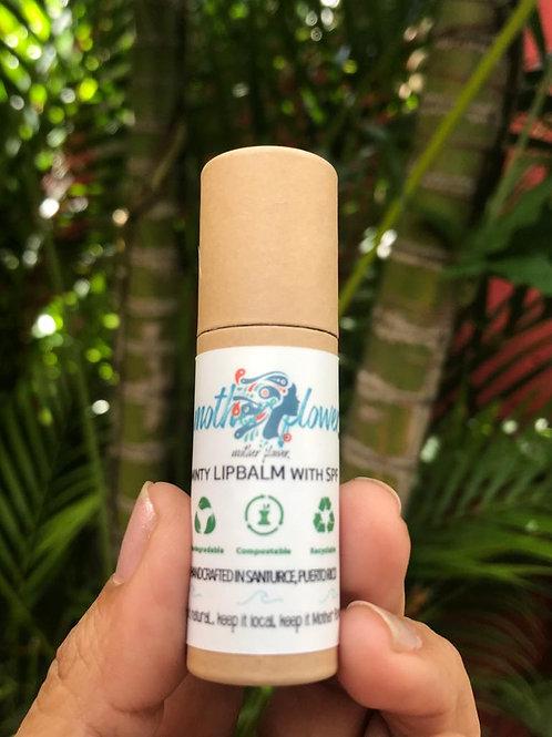 Minty Lipbalm in Eco Friendly package
