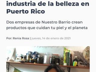 Somos reconocidos como una marca ecoética por la gente de Nuestro Barrio