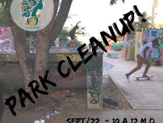 Sk8 Park Cleanup!