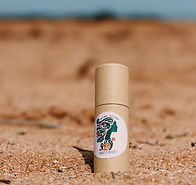 Minty Lipbalm in Eco friendly package