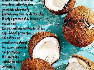 Benefits of Coconut Oil in the Skin!