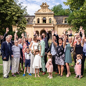 Hochzeit Menge