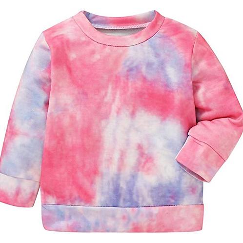 Toddler Tie Dyed Sweatshirt