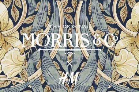 H&M em parceria com Morris & Co.