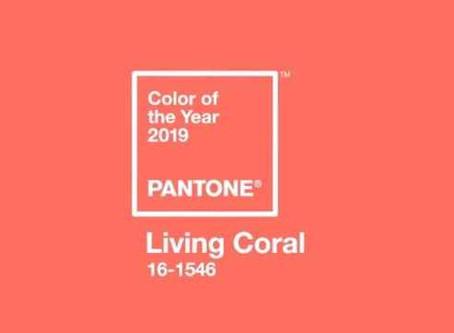 Pantone anuncia cor de 2019: Living Coral