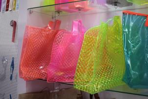 Bolsas de plastico neon