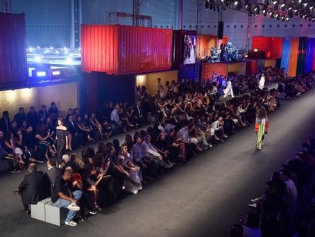 Novos designers desfilam na abertura do Minas Trend