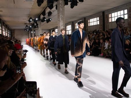 Line-up: Semana de Moda Masculina de Paris