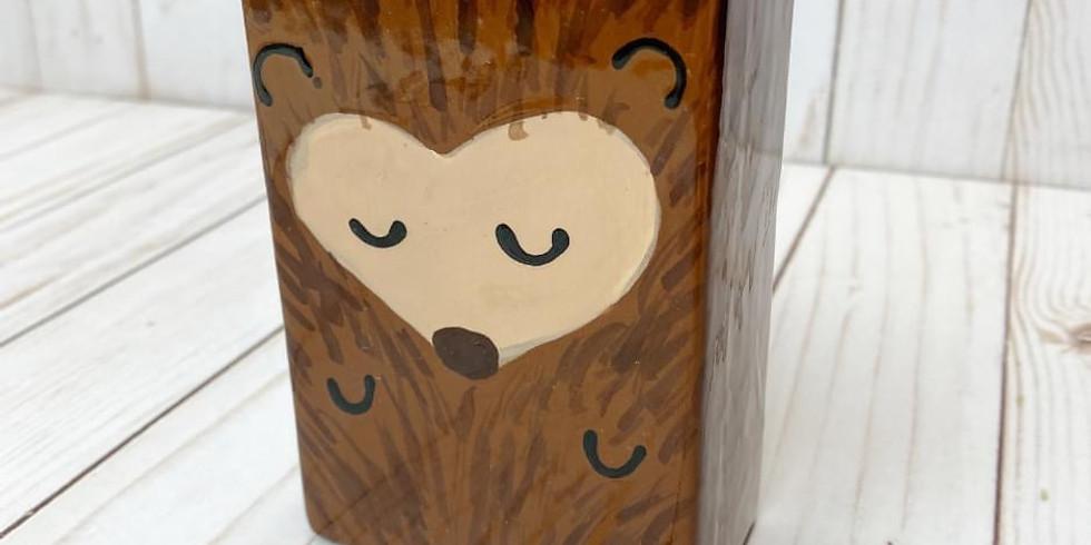 Half Term - Hedgehog Pencil Pot Workshop