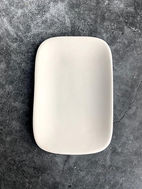 tiny oblong platter