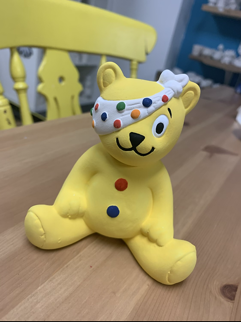 Pudsey Bear fundraising painting kit