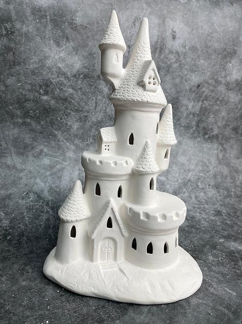 large light up castle