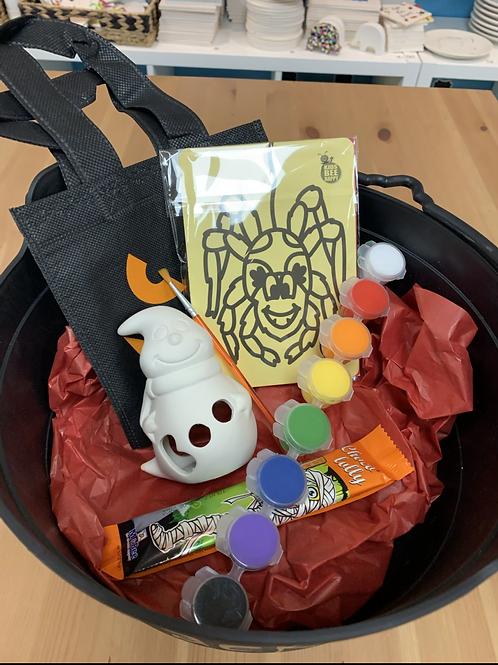 Ghost Tealight Painting Halloween kit