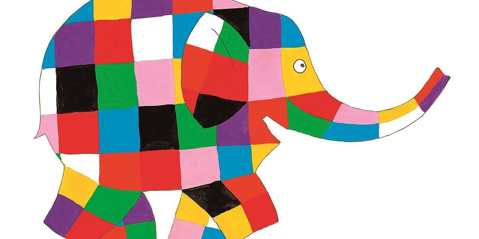 Sensory Story time - Elmer the elephant