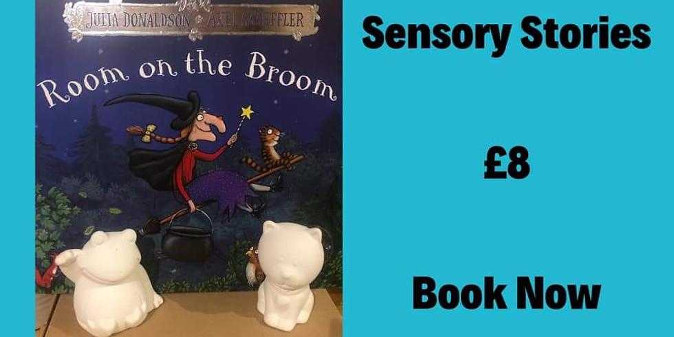 Sensory Stories - Room On The Broom #2