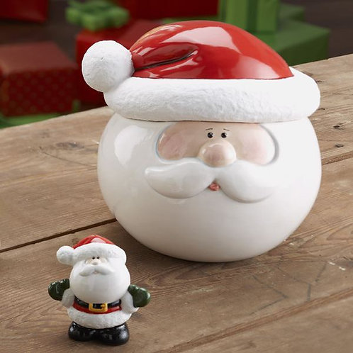 Large Santa Cookie Jar