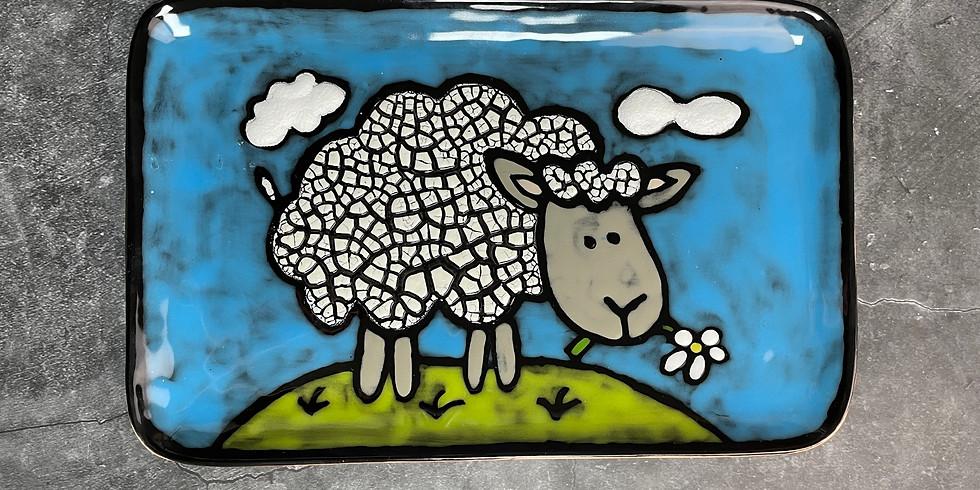 Adult Workshop - Cobblestone Sheep Tray