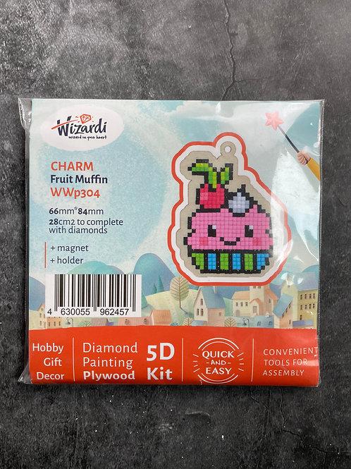 fruit muffin diamond art kit