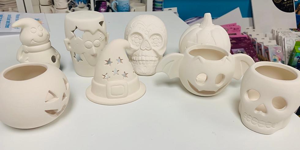 Half Term Halloween fun - Pottery and Slime