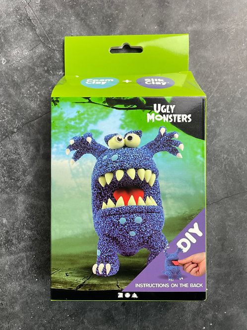 blue ugly monster foam clay kit