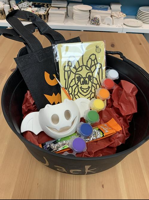 Bat Tealight Painting Halloween kit