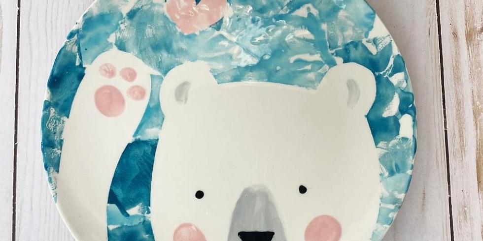 Half Term - Polar Bear Plate